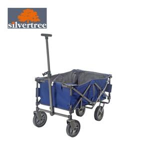 Bollerwagen Kalkutta pulverbeschichtetes Stahlrohrgestell, inkl. Tragetasche, max. Tragfähigkeit: 50 kg, Maße: ca. H 55 x B 51 x T 81 cm
