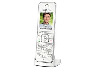 AVM FRITZ!Fon C6, Telefon-Mobilteil für Fritz!Box mit DECT-Basisstation, weiß
