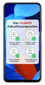 Huawei Nova 5T black Smartphone (6,26 Zoll, 128 GB, 3750-mAh, 48 MP, Quad-Kamera, Octa-Core, schwarz)