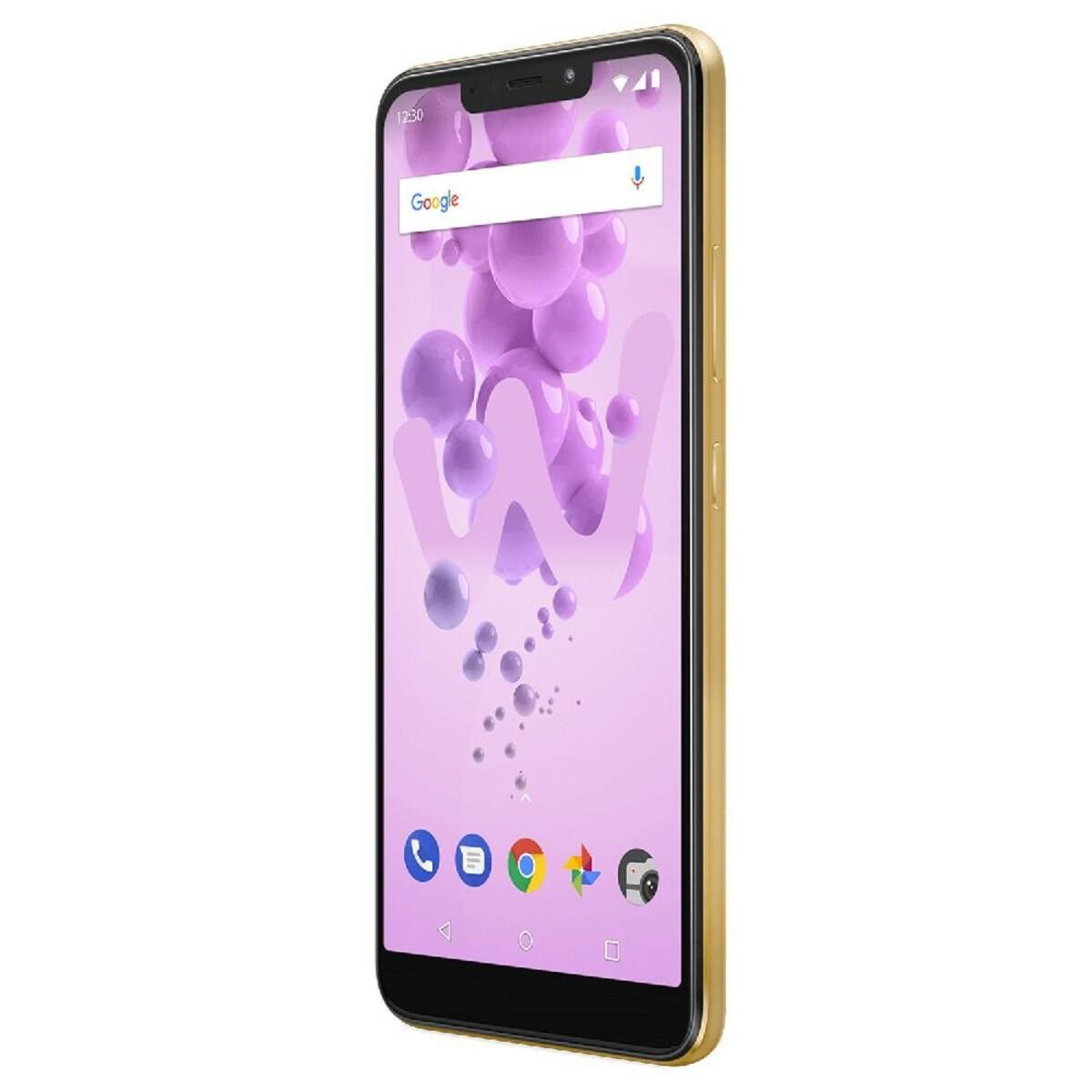 Bild 4 von Wiko View 2 Go Dual-SIM gold Smartphone (5,93 Zoll, 32 GB, 4.000-mAh, Octa-Core, Fingerabdrucksensor)