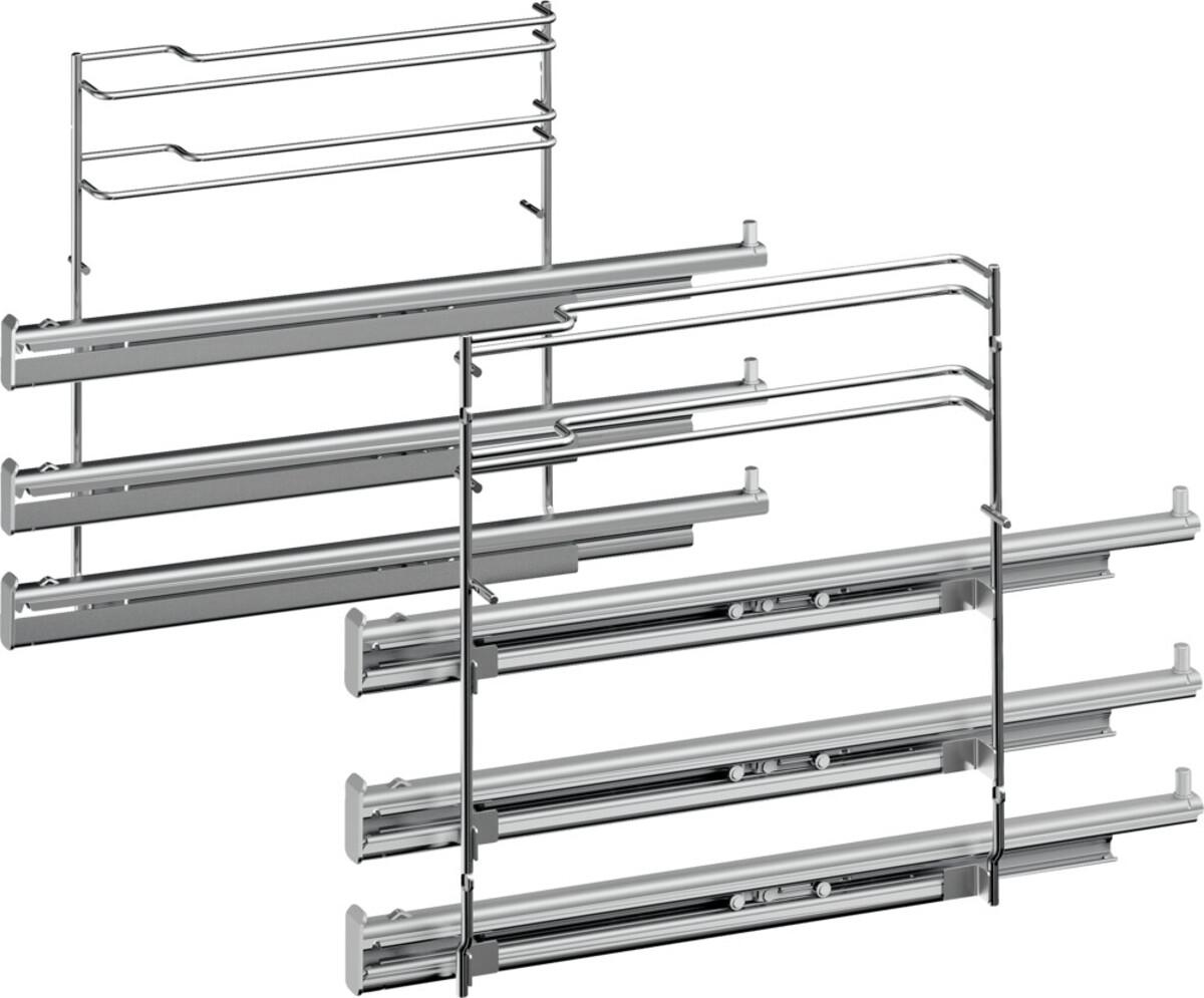 Bild 3 von SIEMENS EX83DV0 Einbauset (EEK A, cookControl 30, Pyrolyse, Selbstreinigung, Elektronikuhr, Induktion, Timer, LCD-Display)