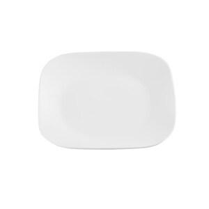 Provida tiefer Porzellanteller in Weiß 21 cm