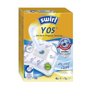 Swirl Staubsaugerbeutel Y 05 Swirl 4er + 1 Filter