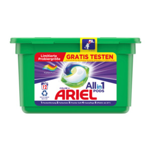 Ariel All-in-1 Pods Color+