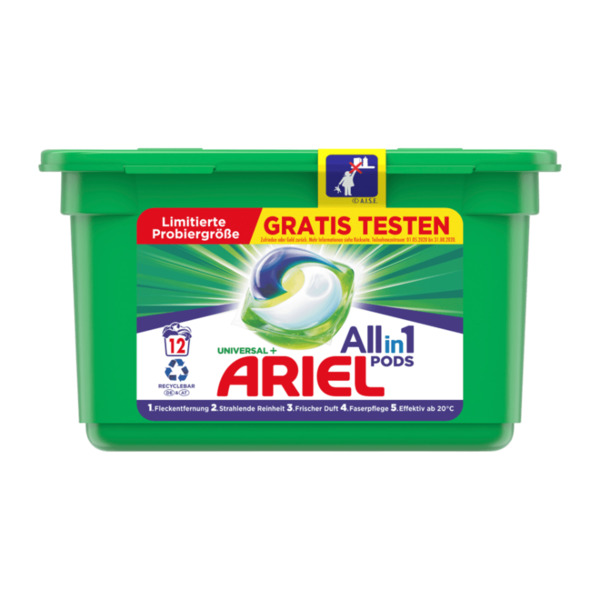 Ariel All-in-1 Pods Universal+