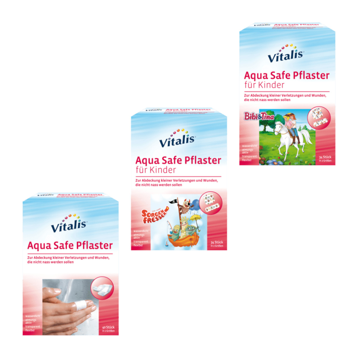 Bild 1 von VITALIS     Aqua Safe Pflaster