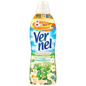 Vernel Weichspüler Mandelblüte 1l, 33WL