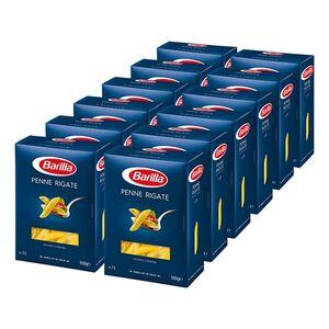 Barilla Penne Rigate 500 g, 12er Pack