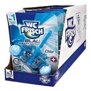 WC Frisch Kraft-Aktiv Blauspüler Chlor 50 g, 10er Pack