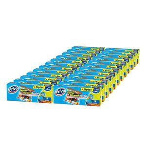 Priva Gefrier-Allzweckbeutel mit Ziptec 20 x 1 L, 24er Pack