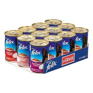 FELIX Katzenfutter Mix 400 g, 12er Pack