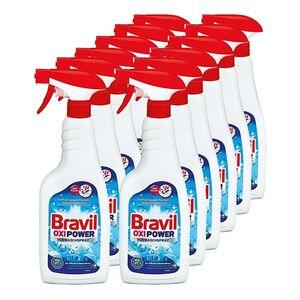 Bravil Vorwaschspray Oxi Power 750 ml, 12er Pack
