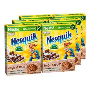 Nestle Nesquik Cerealien 375 g, 6er Pack