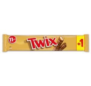 MARS Twix oder Snickers