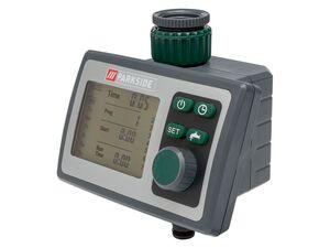 PARKSIDE® Bewässerungscomputer, 6 Zeitpläne, für gängige Wasserhähne, inklusive Batterien