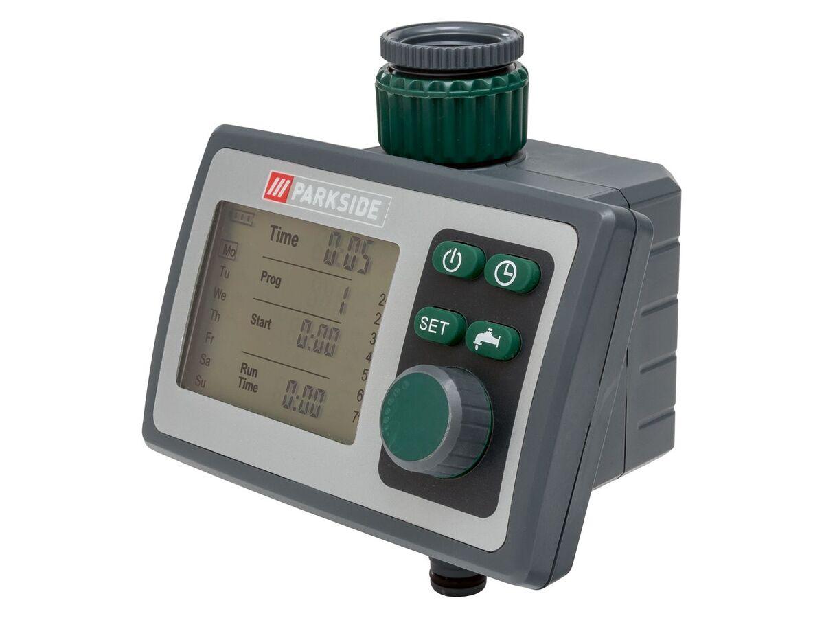 Bild 1 von PARKSIDE® Bewässerungscomputer, 6 Zeitpläne, für gängige Wasserhähne, inklusive Batterien