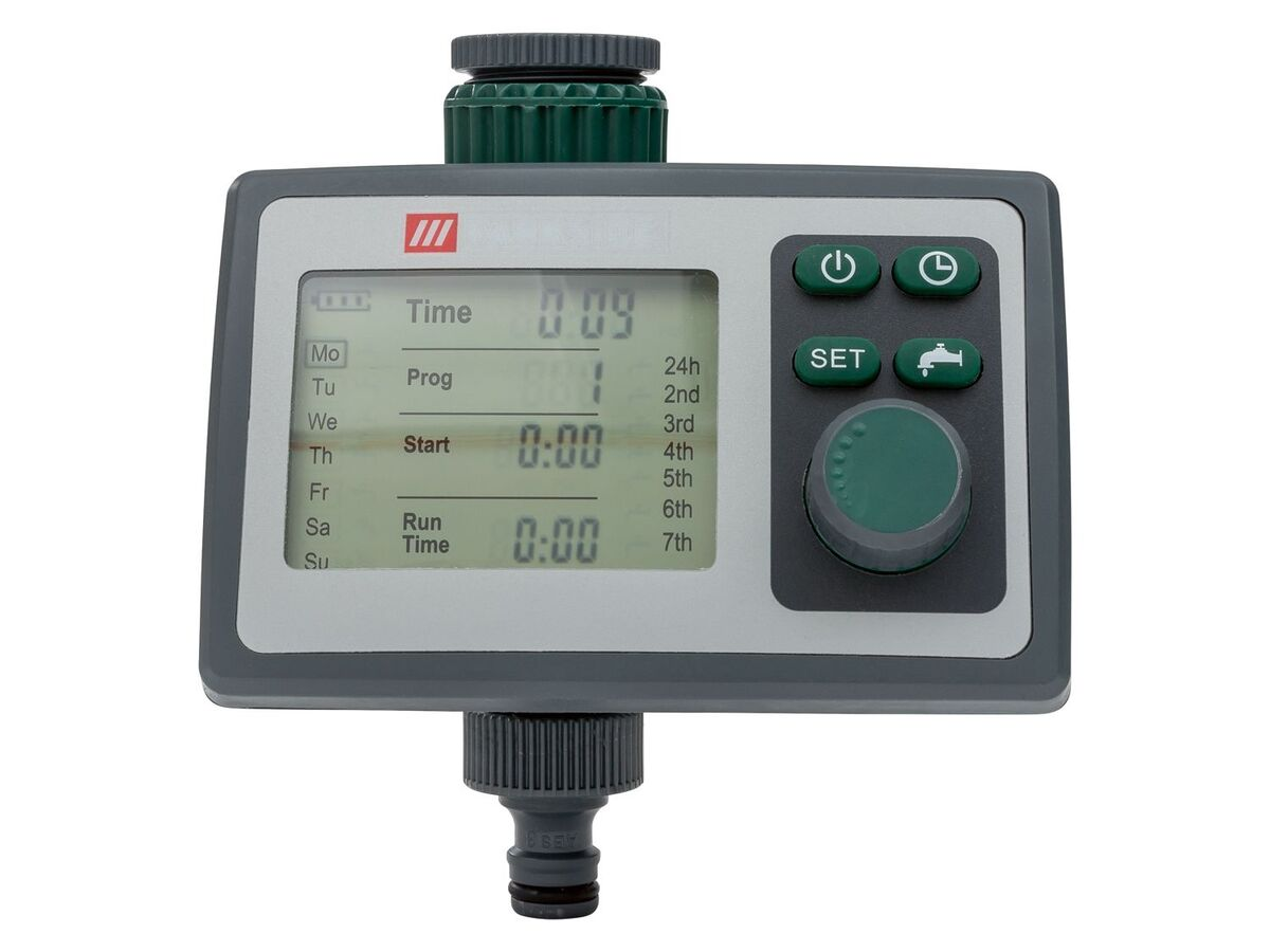 Bild 3 von PARKSIDE® Bewässerungscomputer, 6 Zeitpläne, für gängige Wasserhähne, inklusive Batterien