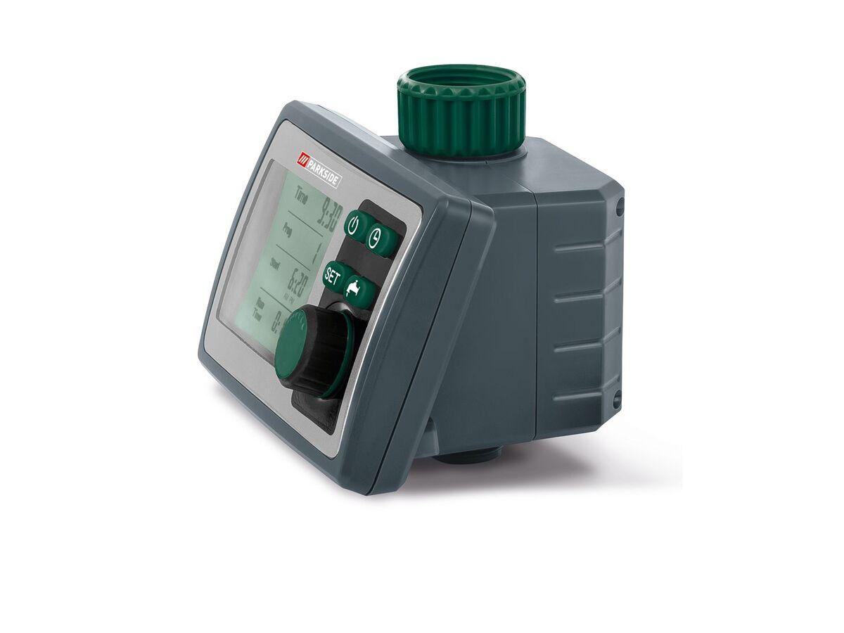 Bild 5 von PARKSIDE® Bewässerungscomputer, 6 Zeitpläne, für gängige Wasserhähne, inklusive Batterien