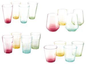 ERNESTO® Gläser, 4er Set, aus robustem Glas