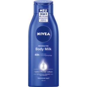 Nivea Bodymilk oder -lotion