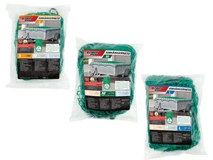 ULTIMATE SPEED® Anhängernetz, mit elastischem Zugseil, aus reißfestem Gewebe, UV-beständig