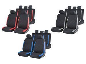 ULTIMATE SPEED® Autositzbezug, 14-teilig, Rückbank in Universalgröße, waschbar, lichtecht