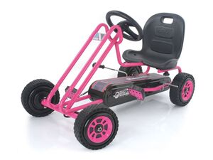 hauck TOYS FOR KIDS Go-Kart »Lightning«, Tretauto für Einsteiger, ab 4 Jahren