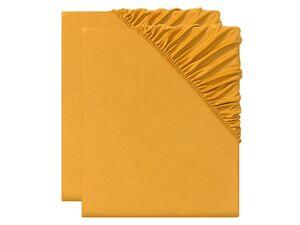 MERADISO® Spannbettlaken, 2 Stück, 90-100 x 200 x 25 cm