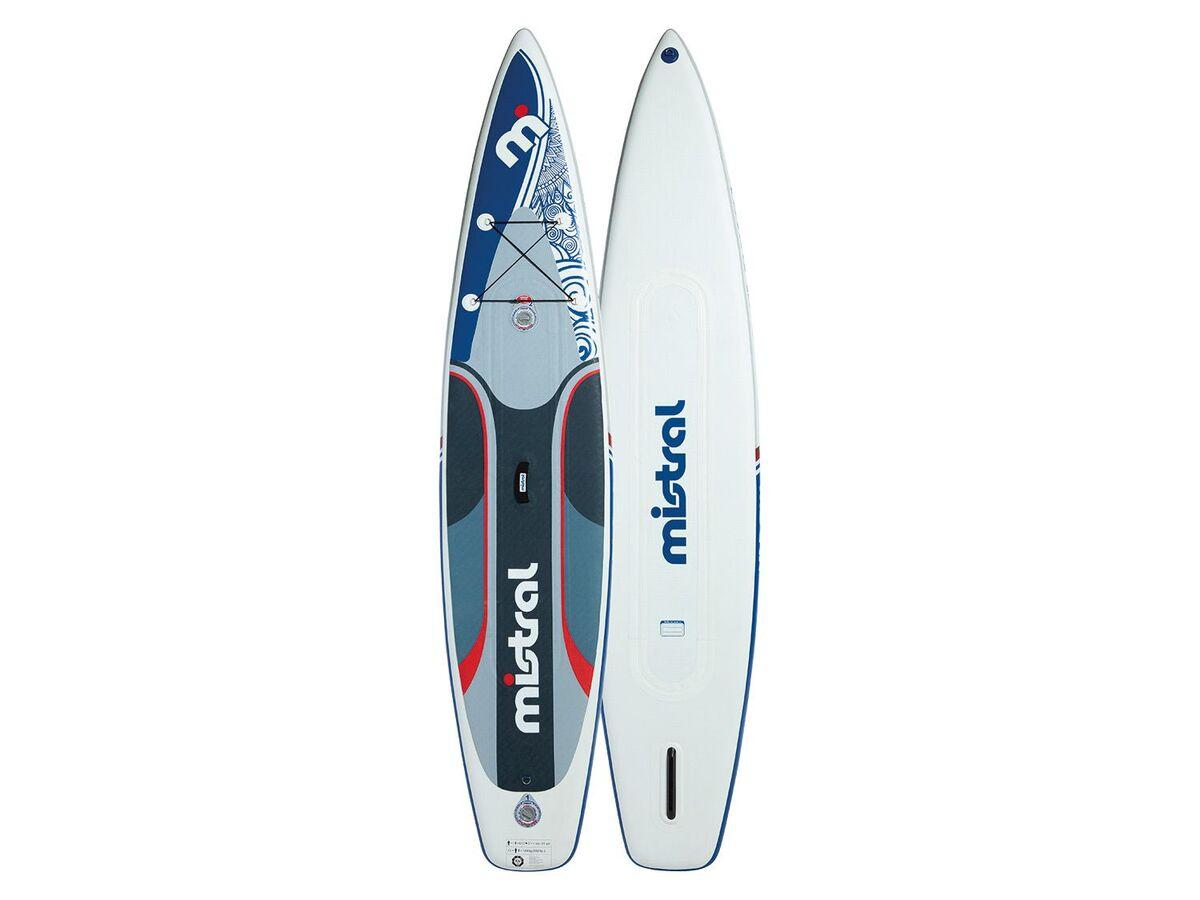 Bild 2 von mistral Race Stand up Paddleboard, 180 kg Belastbarkeit, 1 US-Mittelfinne, Doppelkammer
