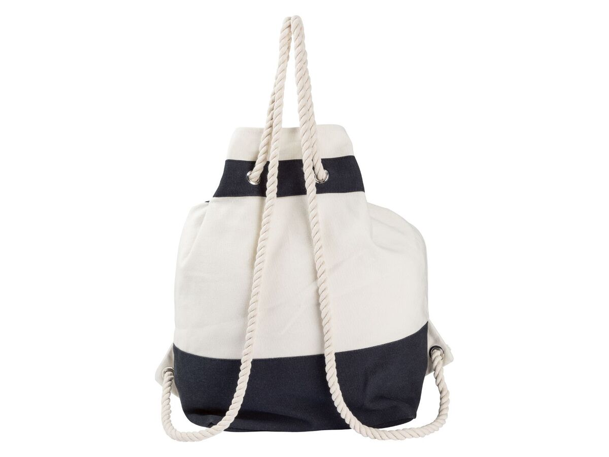 Bild 4 von ESMARA® Strandtasche/ Seesack, mit Reißverschluss, geräumiges Hauptfach, Innentasche