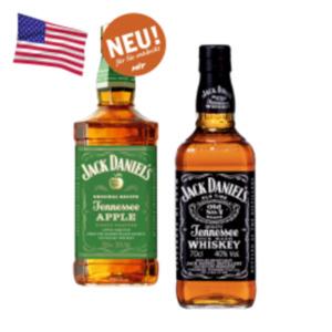 Jack Daniels Tennessee Whiskey, Apple, Honey, Fire oder Jim Beam Black Whiskey