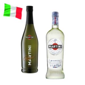 Martini Bianco, Fiero oder Prosecco Frizzante