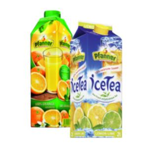 Pfanner Ice Tea oder Säfte, Nektare