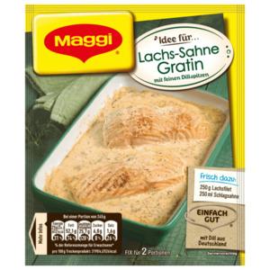 Maggi Fix Lachs-Sahne Gratin