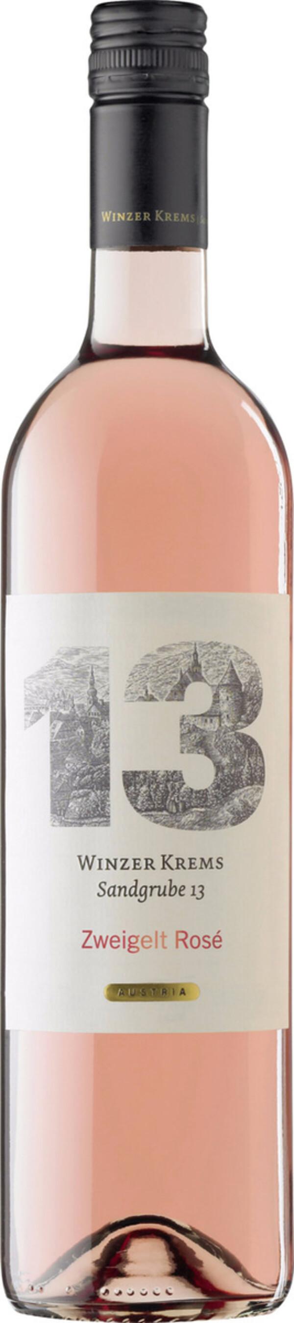 Winzer Krems Sandgrube 13 Zweigelt Rosé 2019 0,75 ltr