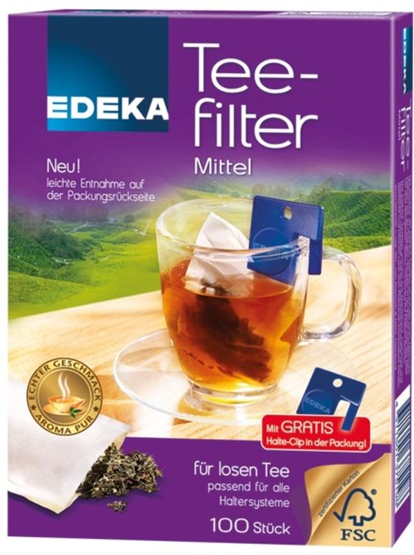 EDEKA Teefilter Mittel 100 Stück