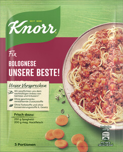 Knorr Fix Bolognese Unsere Beste! 38 g