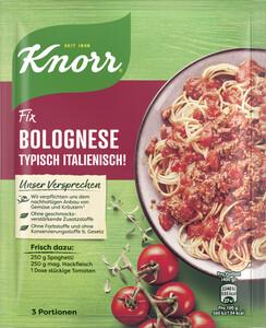 Knorr Fix Bolognese Typisch Italienisch! 42 g