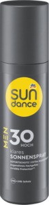 SUNDANCE MEN Sonnenspray transparent LSF 30