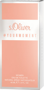 s.Oliver Eau de Toilette #your moment women
