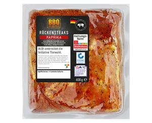 BBQ Schweine-Rückensteaks