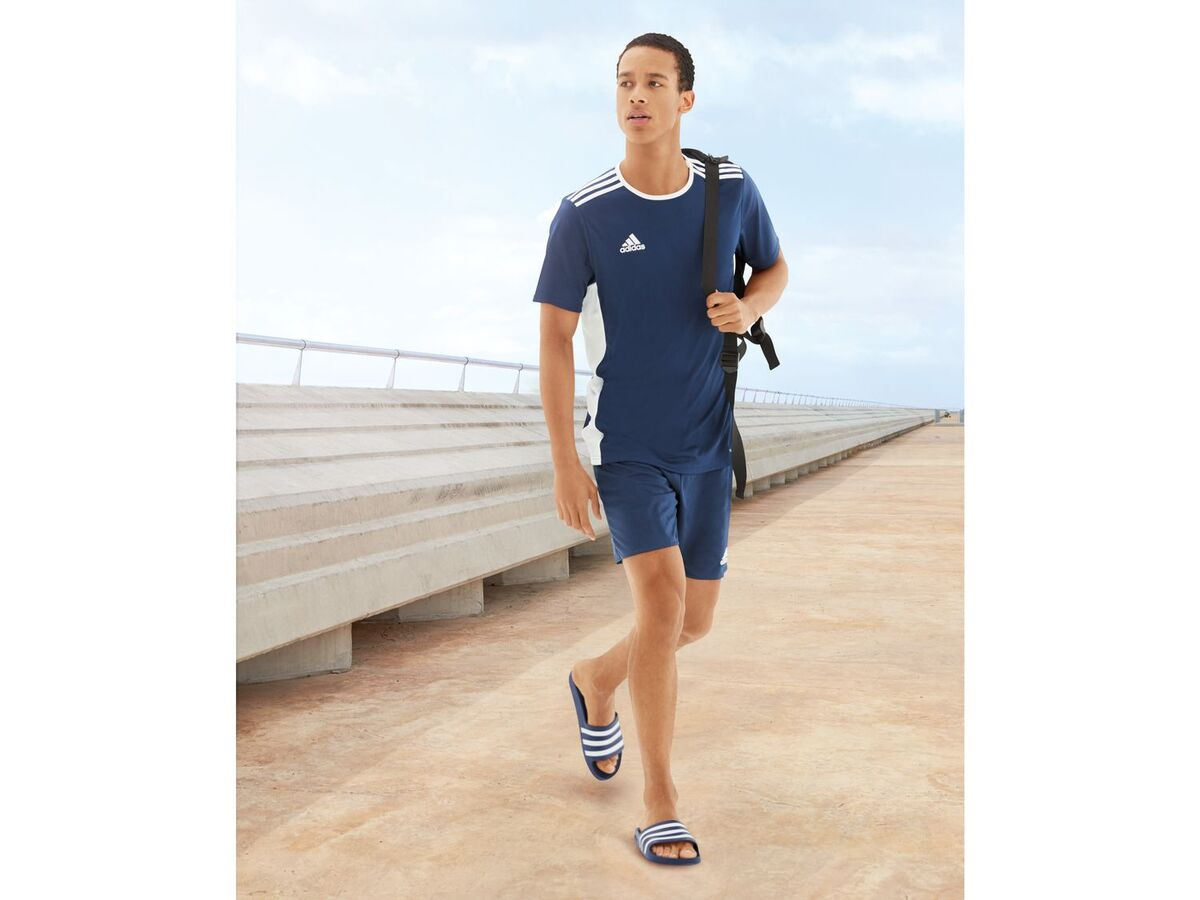 Bild 4 von adidas Shorts Herren, elastischer Bund mit Kordelzug