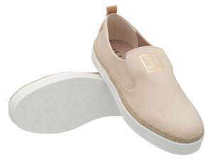JETTE Damen Sneaker Slip-On, beige