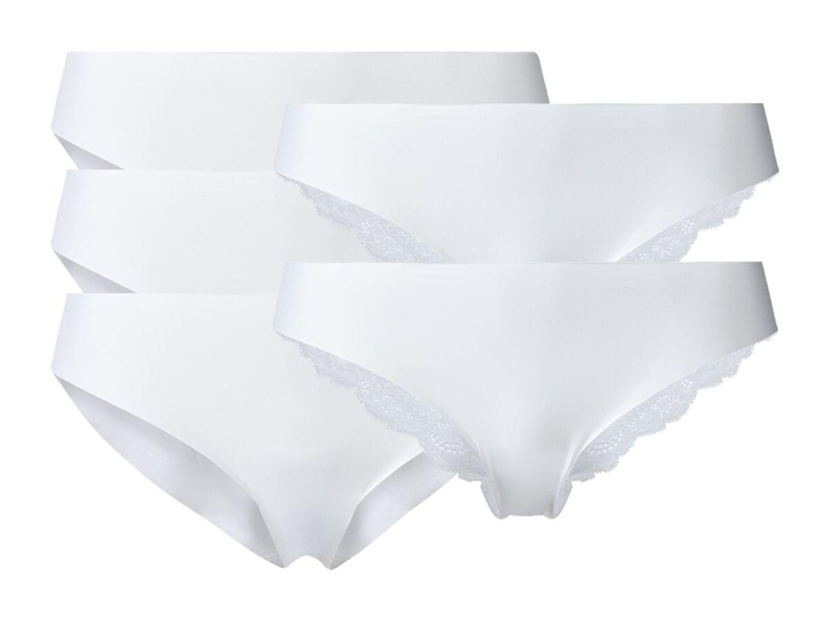 Bild 2 von ESMARA® Lasercut-Slips Damen, 5 Stück, ohne störende Nähte, mit Elasthan