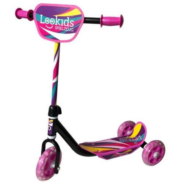 Lookids Scooter 3 Räder pink lila