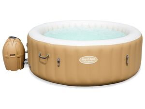 Bestway Lay-Z-Spa™ Whirlpool »Palm Springs«, Abdeckung, Heizfunktion, Massagefunktion