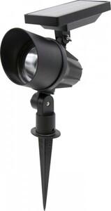 Trendline LED Solarspot mit Erdspieß ,  schwarz