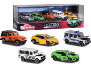 DICKIE TOYS SUV 5 pcs Giftpack Modellauto, Mehrfarbig