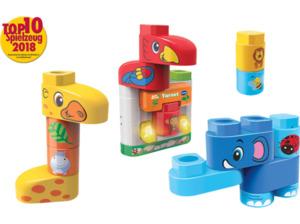 VTECH BlaBlaBlocks - Tierset Lernspielzeug, Mehrfarbig