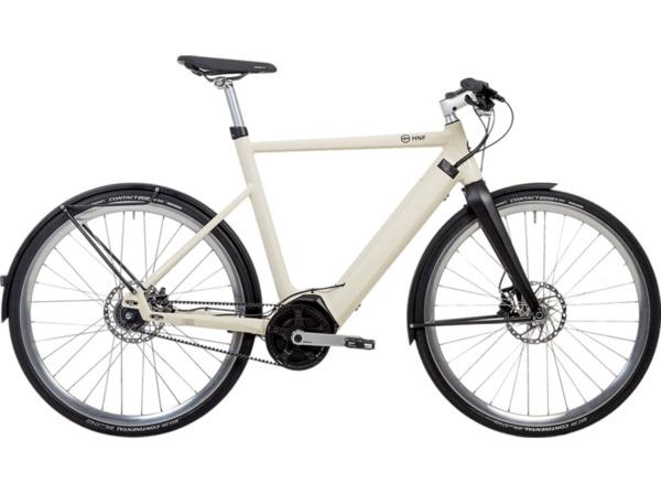 HNF-NICOLAI SD1 Urban Pedelec-25 L/XL Citybike (28 Zoll, 60 cm, Beige)